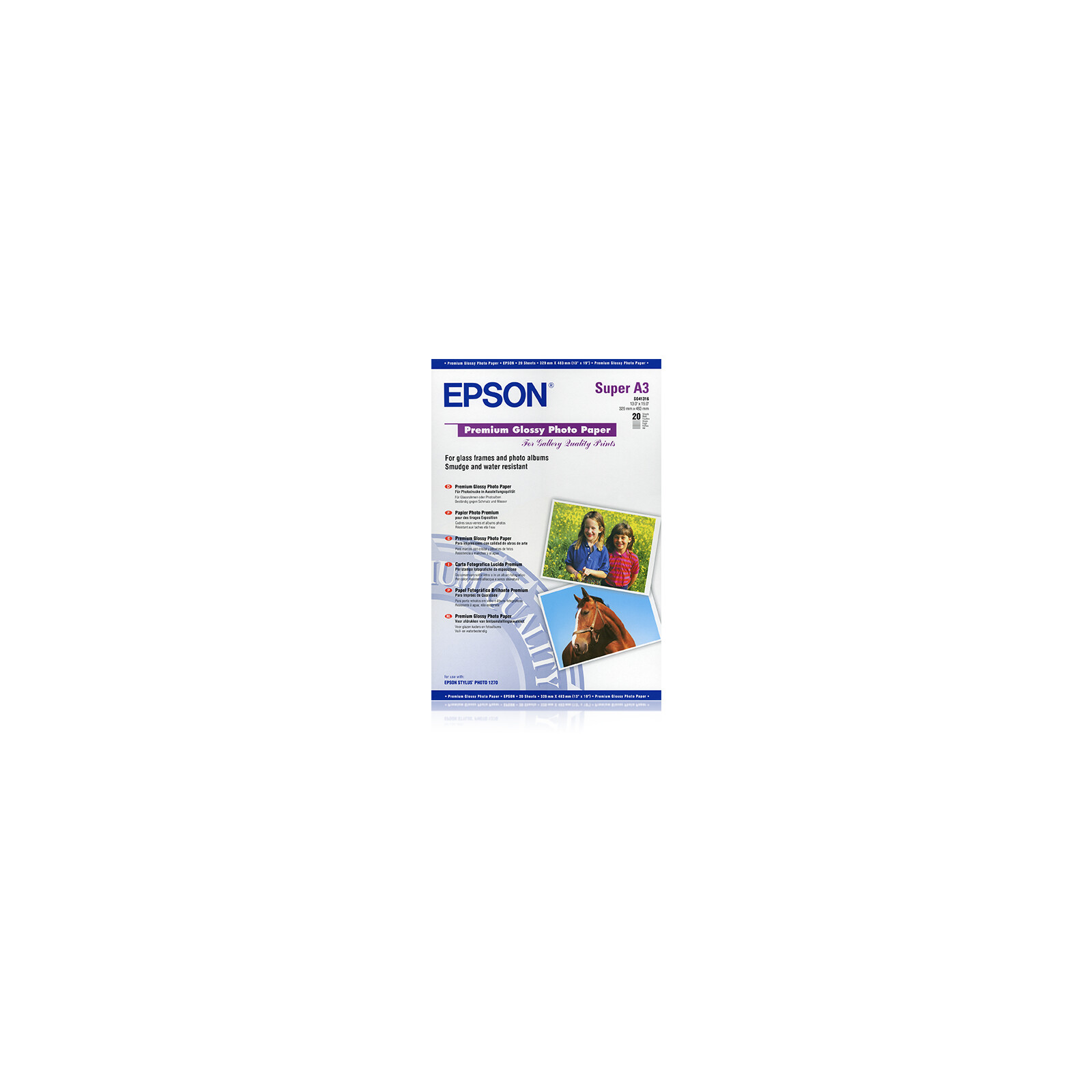 Epson S041316 A3 20Bl 255g Glossy
