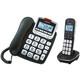 Emporia GD61ABB Festnetz- & Schnurlostelefon mit Anrufbe