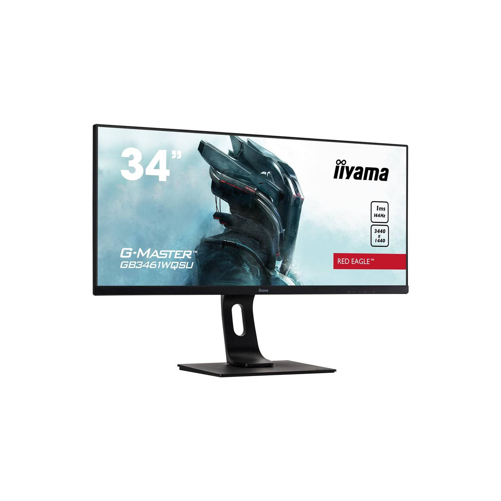 IIYAMA G-Master GB3461WQSU-B1 Red Eagle 34 Zoll Monitor