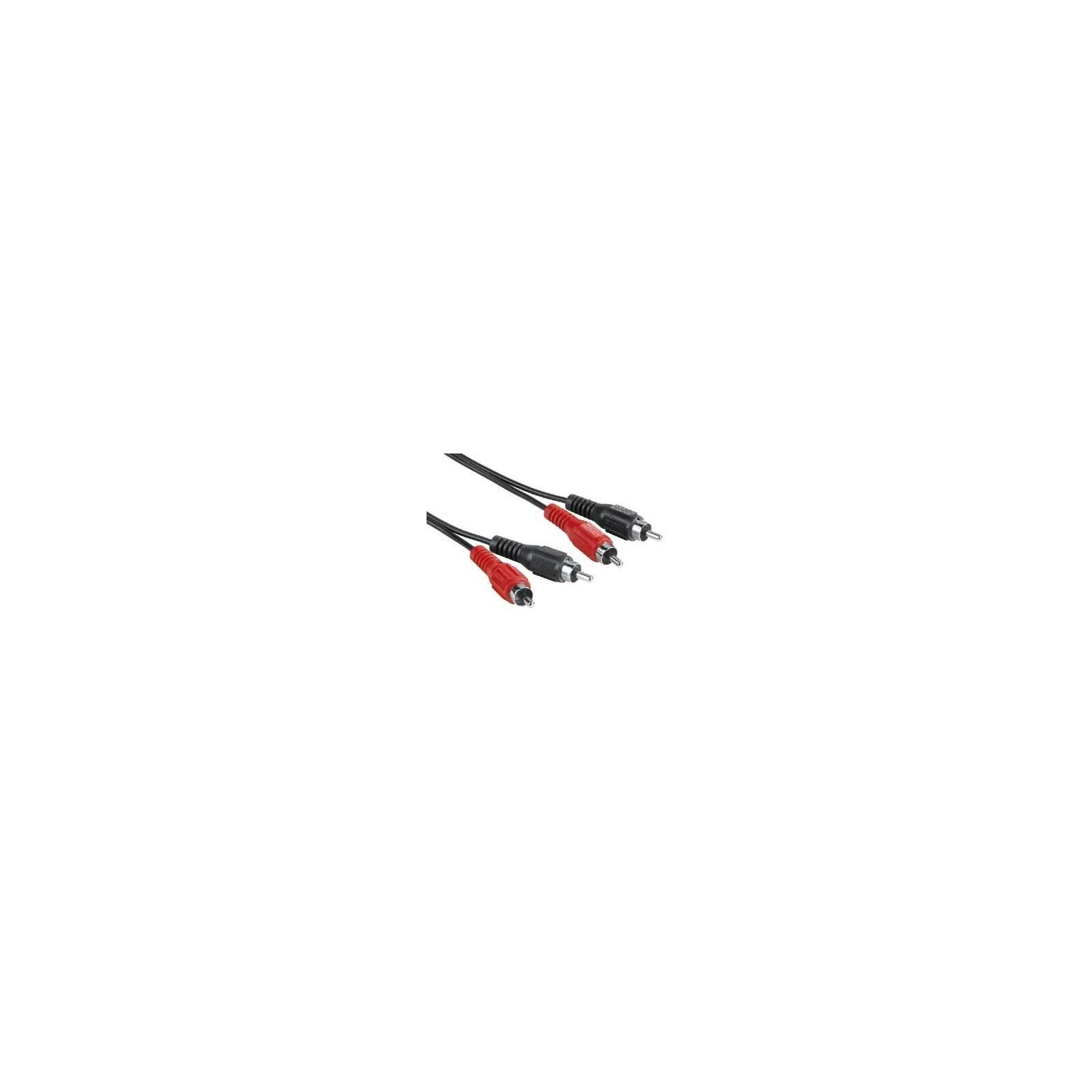 Hama 43316 Audio-Kabel 2 Cinch-Stecker - 2 Cinch-Stecker, 1,
