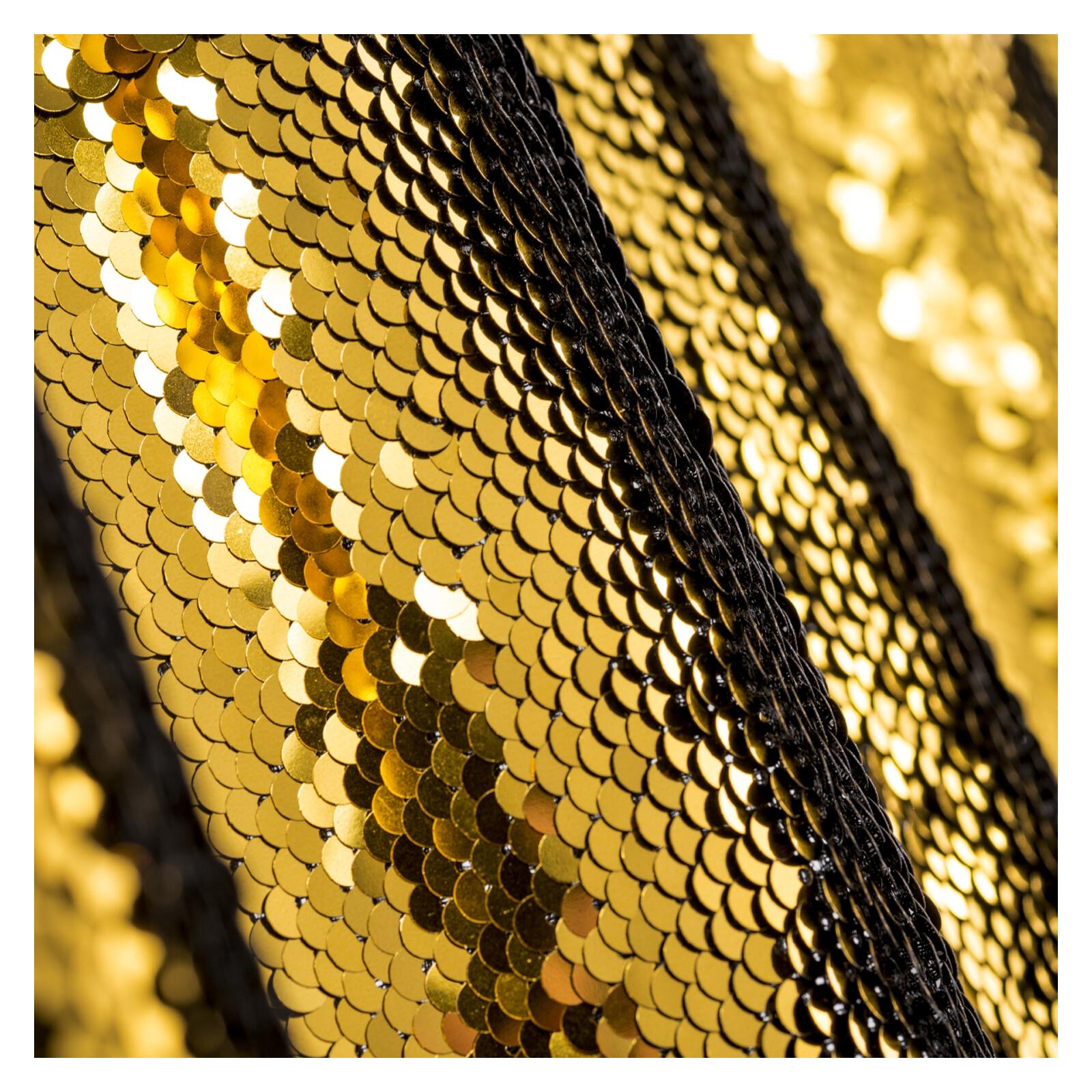 walimex pro Paillettenhintergrund 2,6x2,4m gold