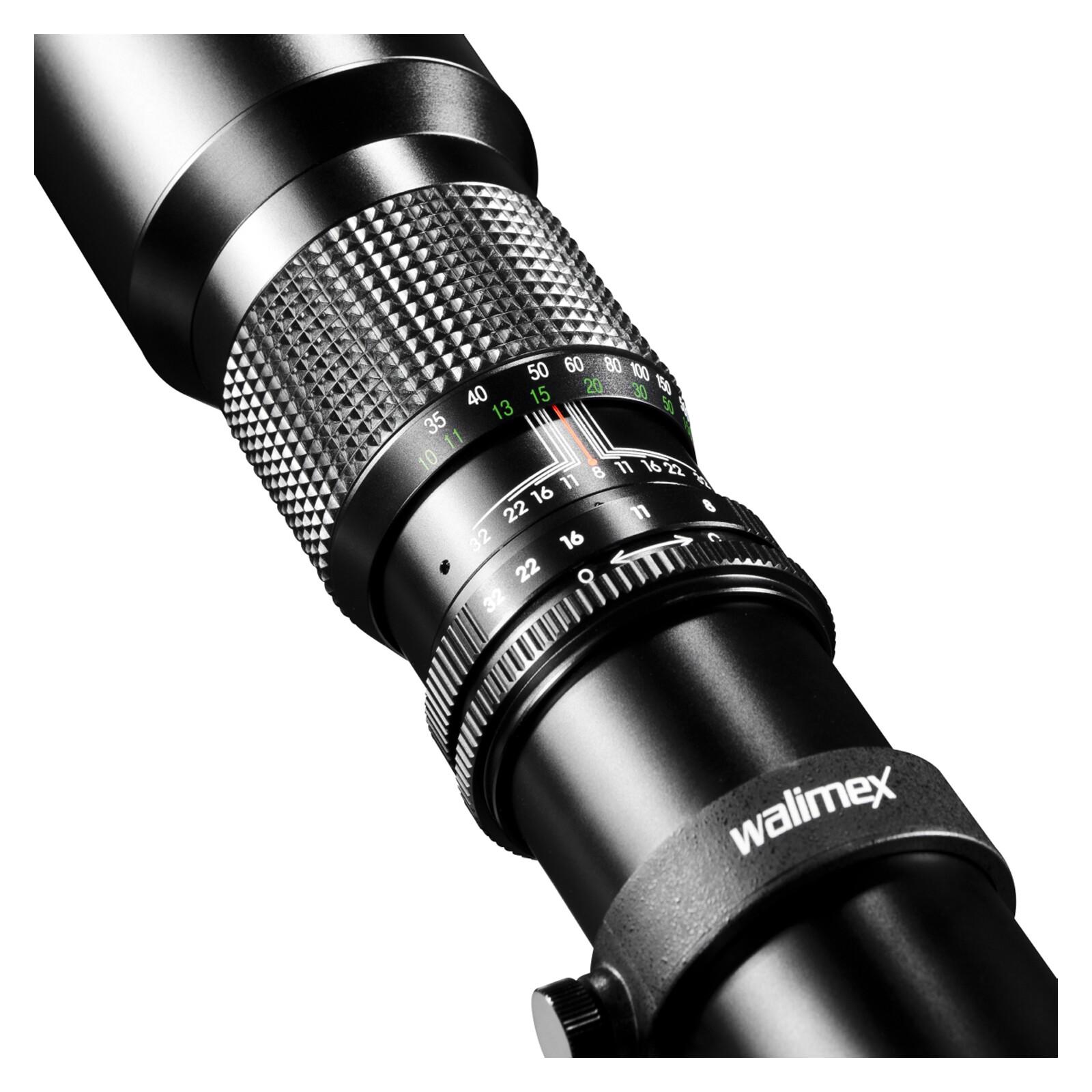 walimex 500/8,0 DSLR Canon EF  + UV Filter