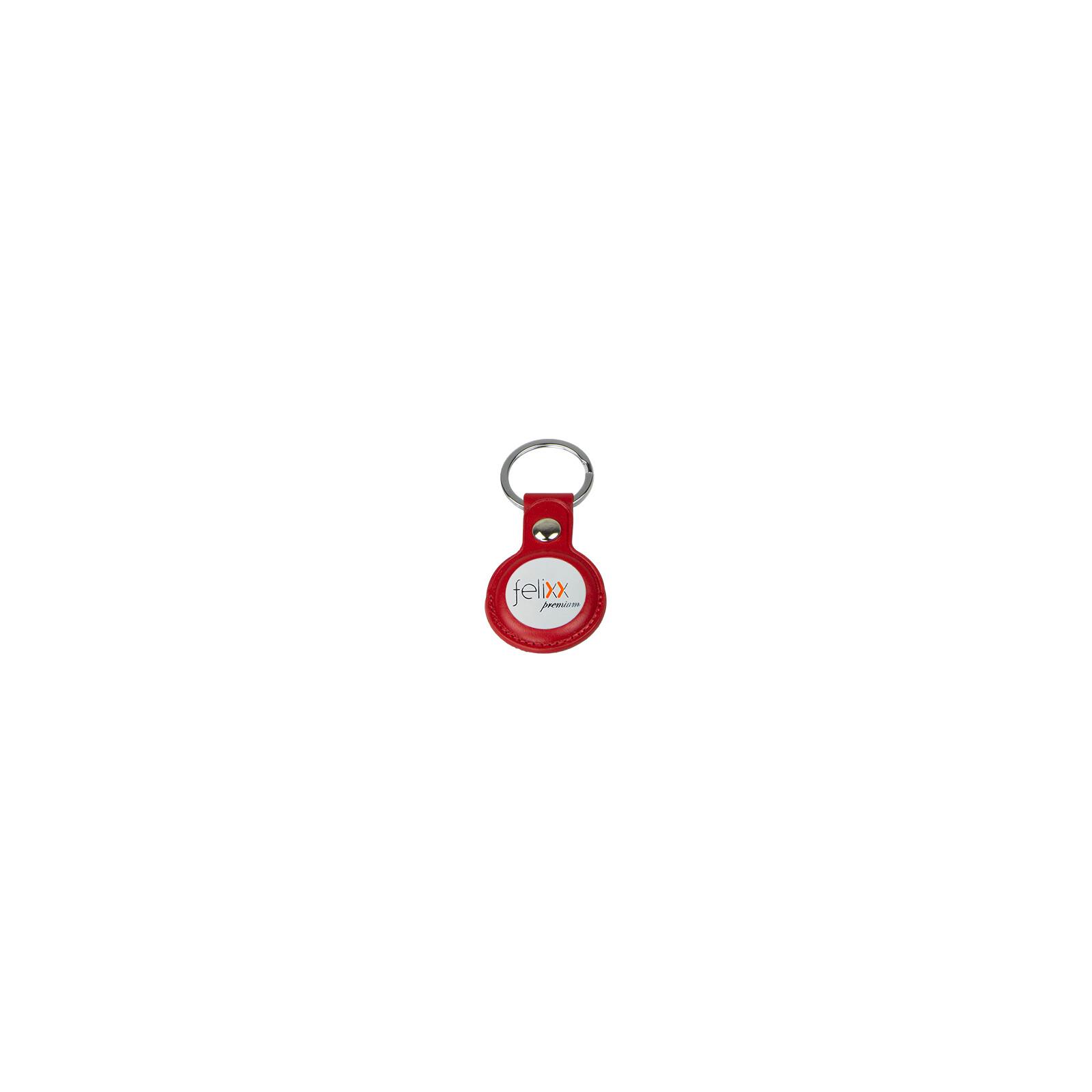 Felixx AirTag Anhänger Leder rot