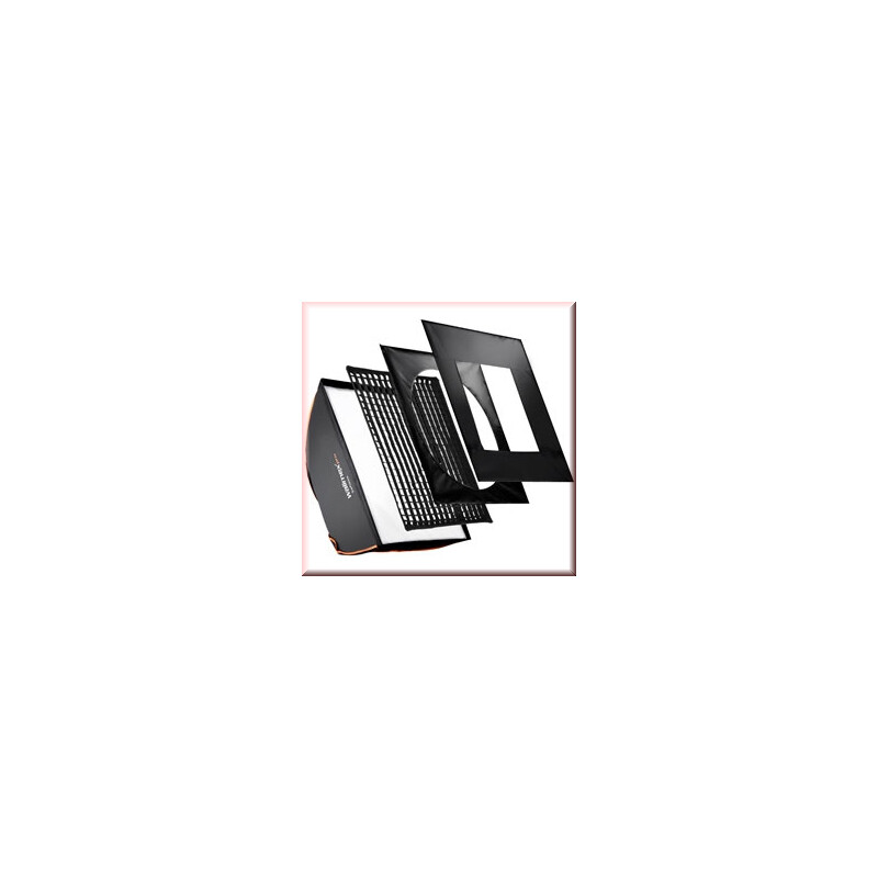walimex pro Softbox PLUS OL 40x40cm Visatec