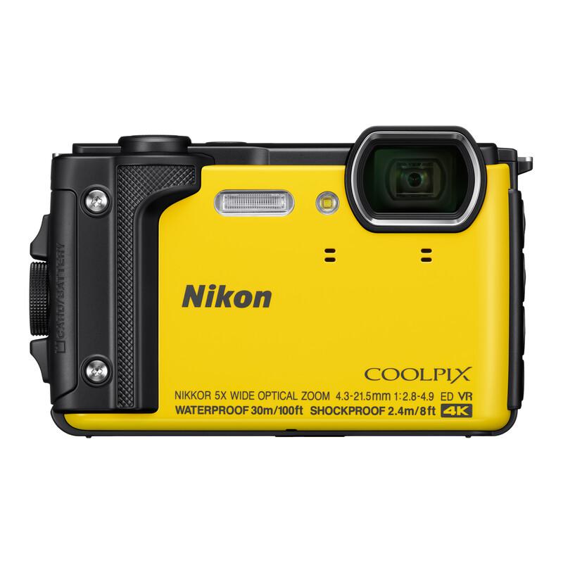 Nikon Coolpix W300 Holiday Kit gelb