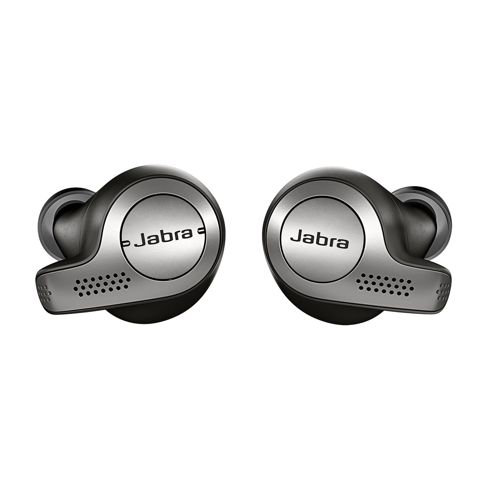 Jabra True Wireless Elite 65T Titanium Schwarz