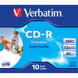 Verbatim CD-R 80 52x Jewel Case 10er printable