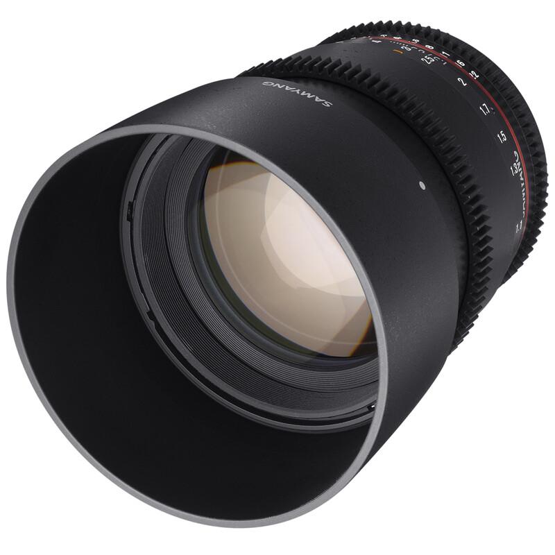 Samyang MF 85/1,5 Video DSLR II Canon EF
