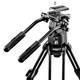 walimex pro EI-9901 Video-Pro-Stativ, 138cm