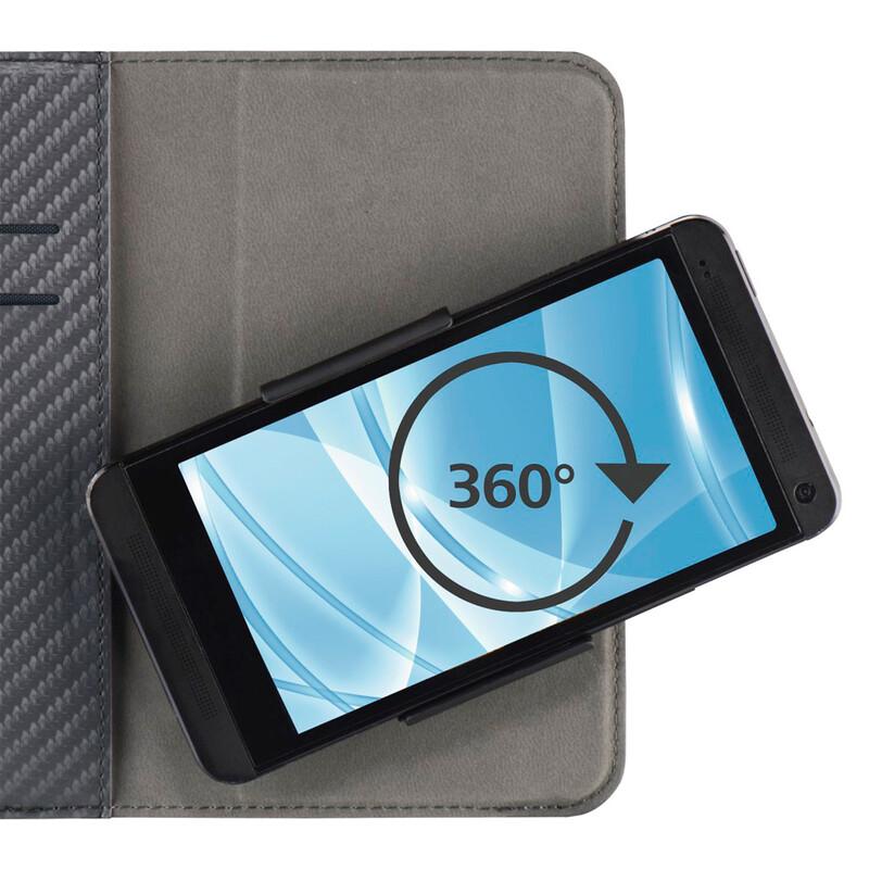 "Hama Book Smart Move Carbon L 4,0-4,5"""