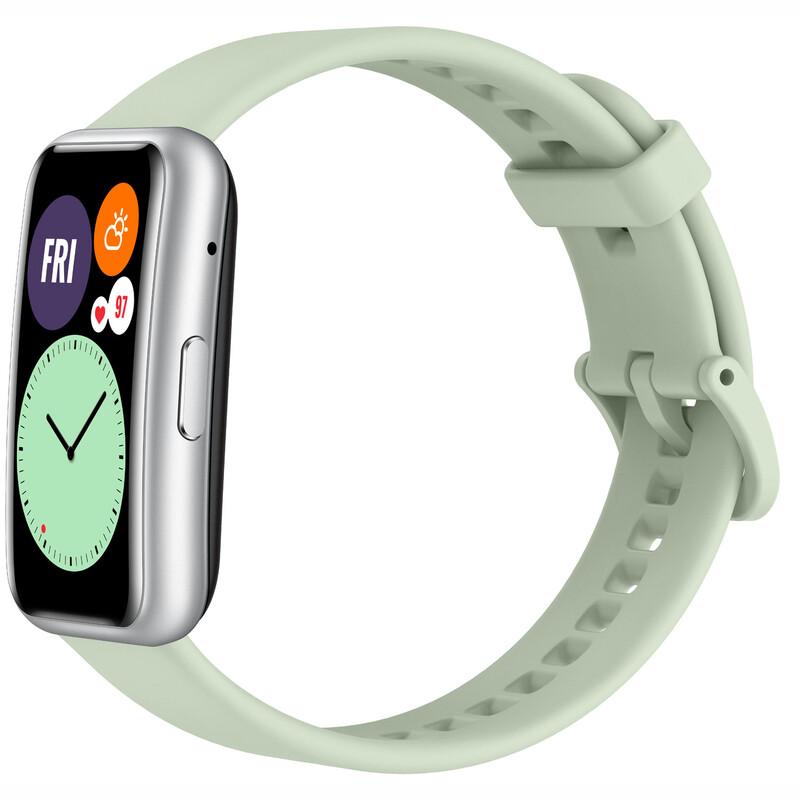 Huawei Watch fit mint green