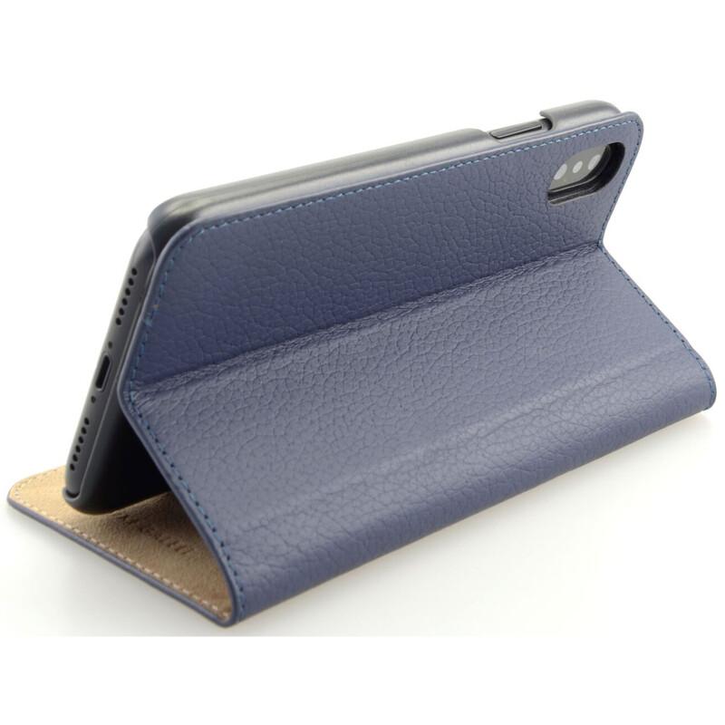 Galeli Book Tasche Marc Apple iPhone XS Max nachtblau