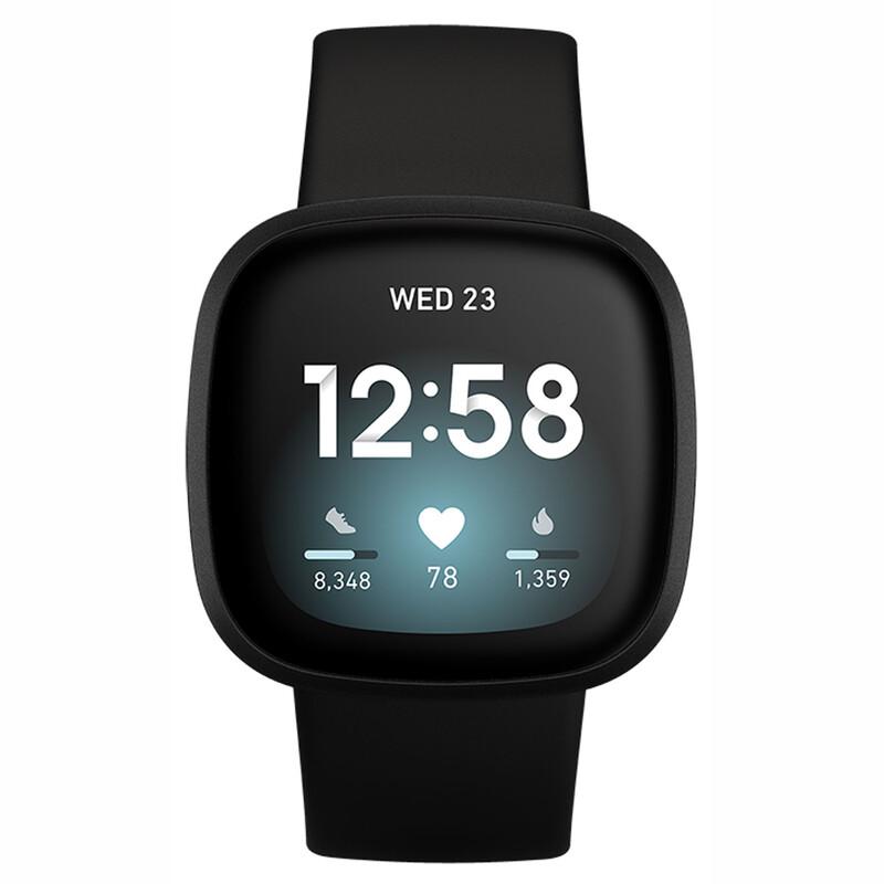 Fitbit Versa 3 Black/Black Aluminum