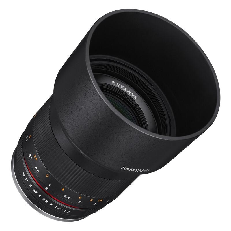 Samyang MF 50/1,2 Fuji X schwarz