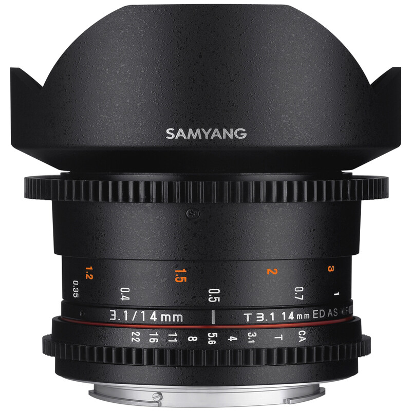 Samyang MF 14/3,1 Video II Sony E