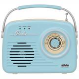 Silva Mono 1965 Portable Radio blau