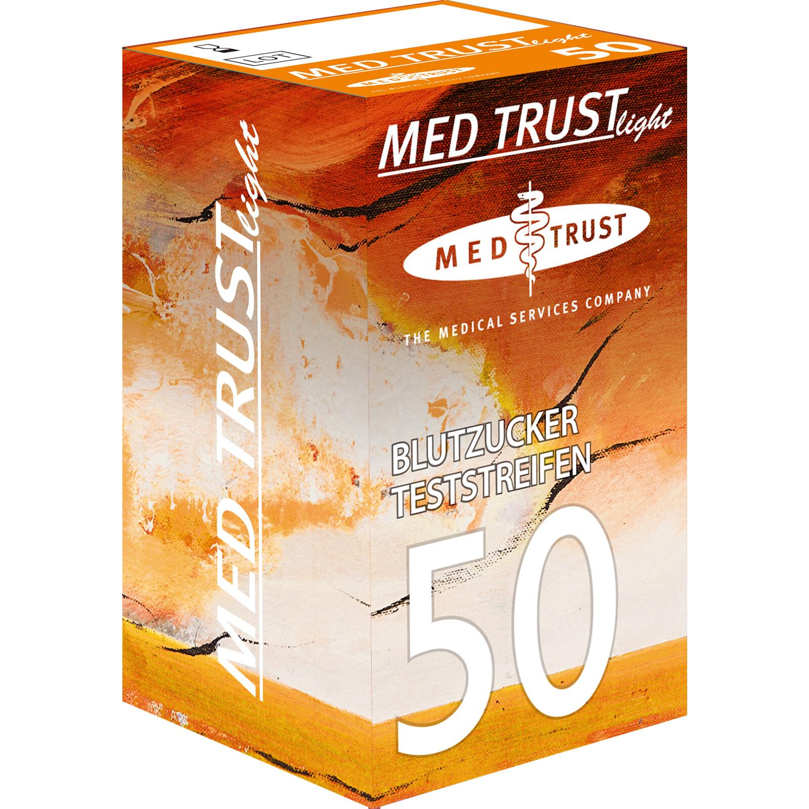 Wellion Med Trust 50 Blutzuckerteststreifen