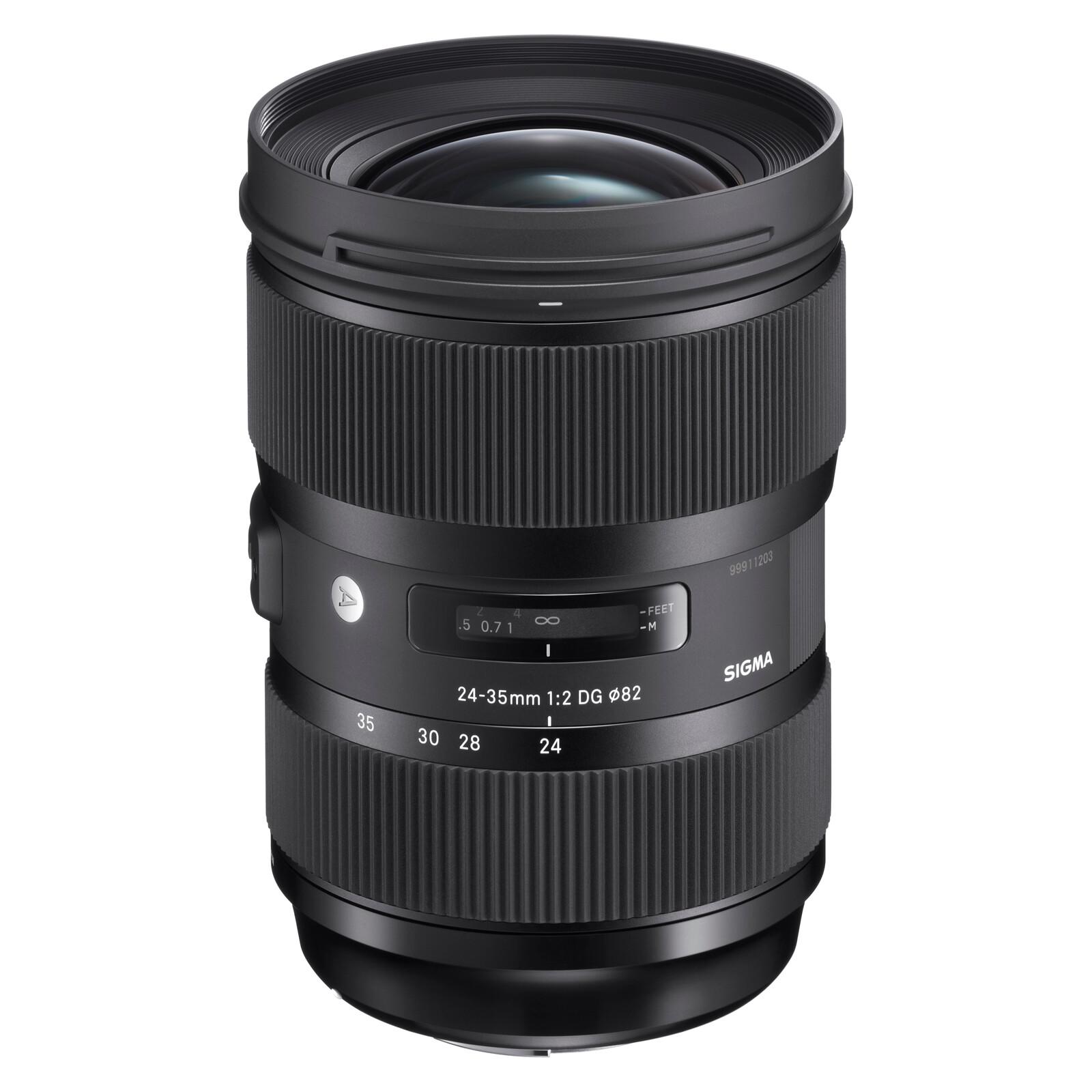 Sigma ART 24-35/2,0 DG HSM Nikon + UV Filter