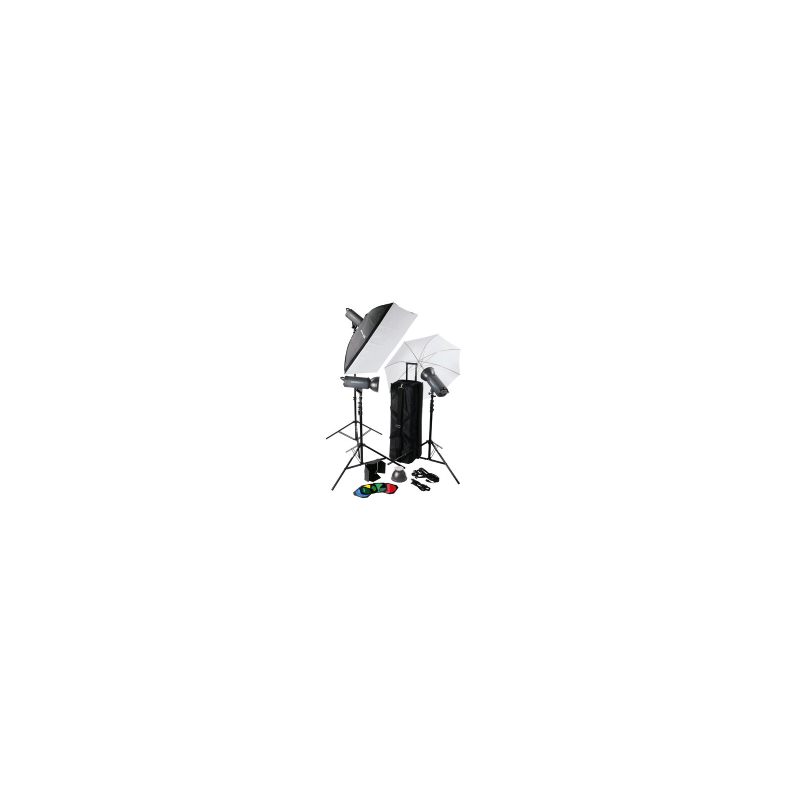 Helios 600P II Profi-Blitzstudio 3er-Set