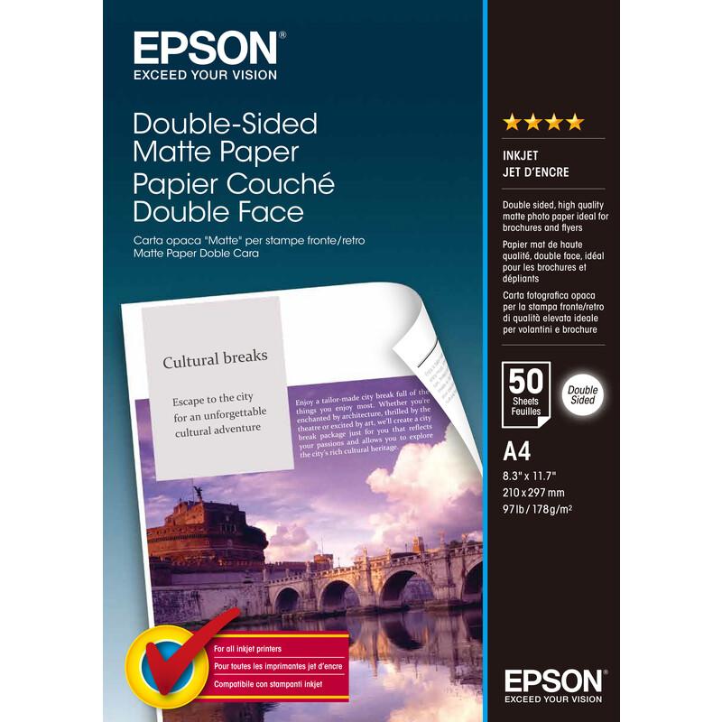 Epson S041569 A4 50Bl 178g Matt