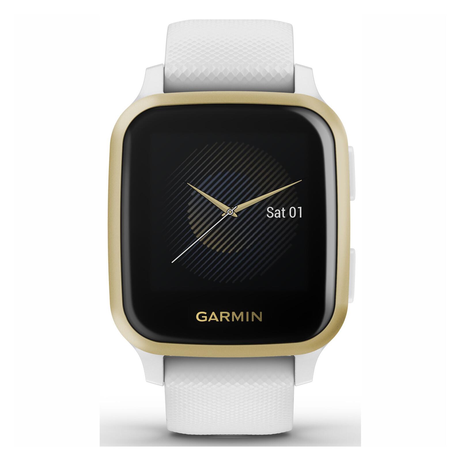 Garmin Venu SQ Weiß/Weißgold