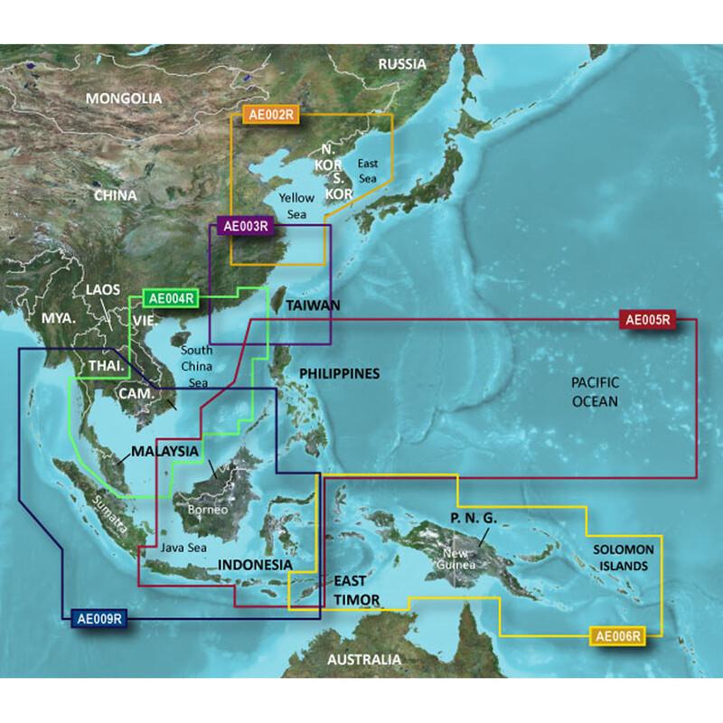 Garmin HXAE005R - Philippines-Java-Mariana Islands mSD