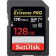 SanDisk SDXC 128GB Extreme Pro UHS-I 170MB/s