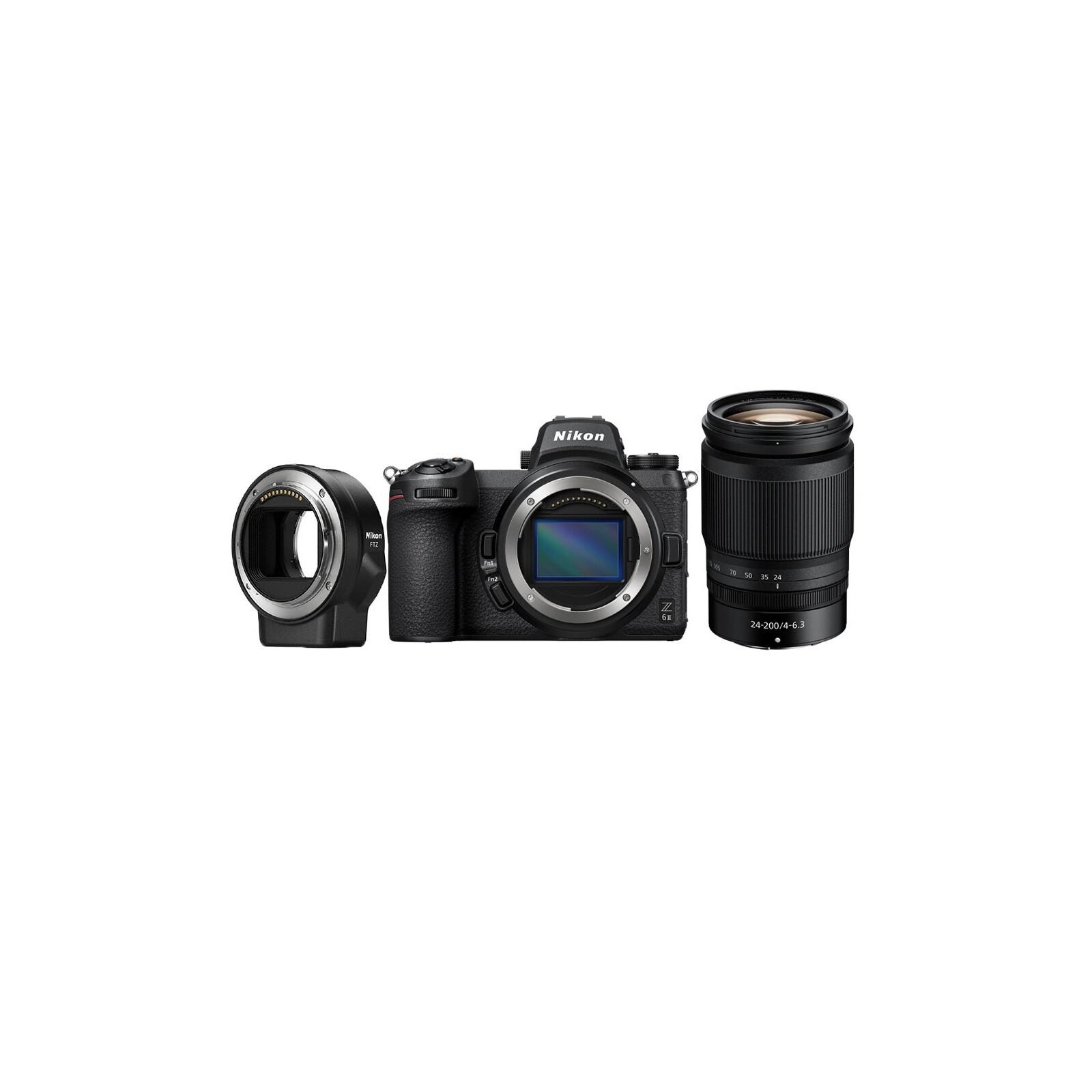 Nikon Z 6II + Z 24-200/4.0-6.3 VR + FTZ Adapter