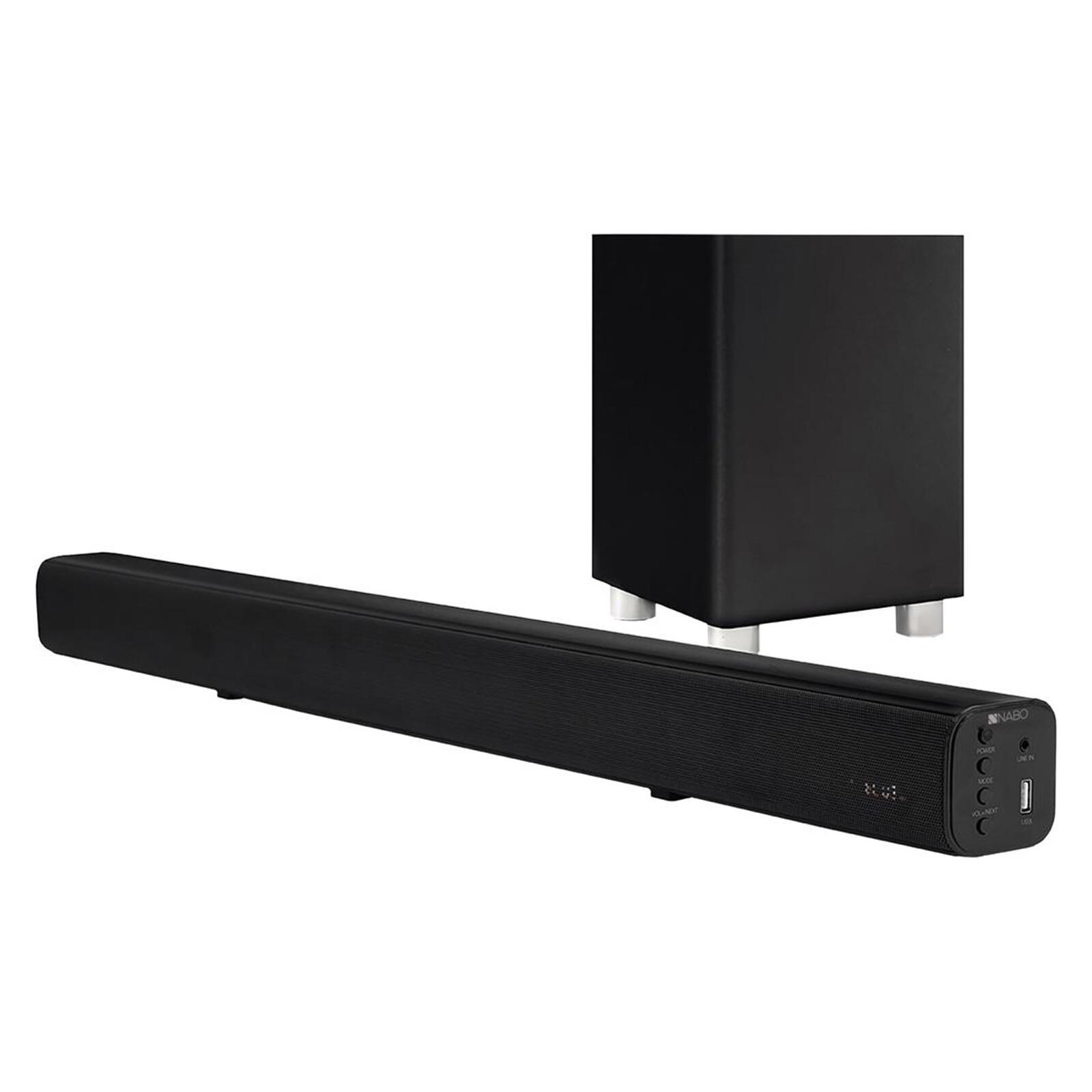 NABO SBW-175 Soundbar 2.1 schwarz