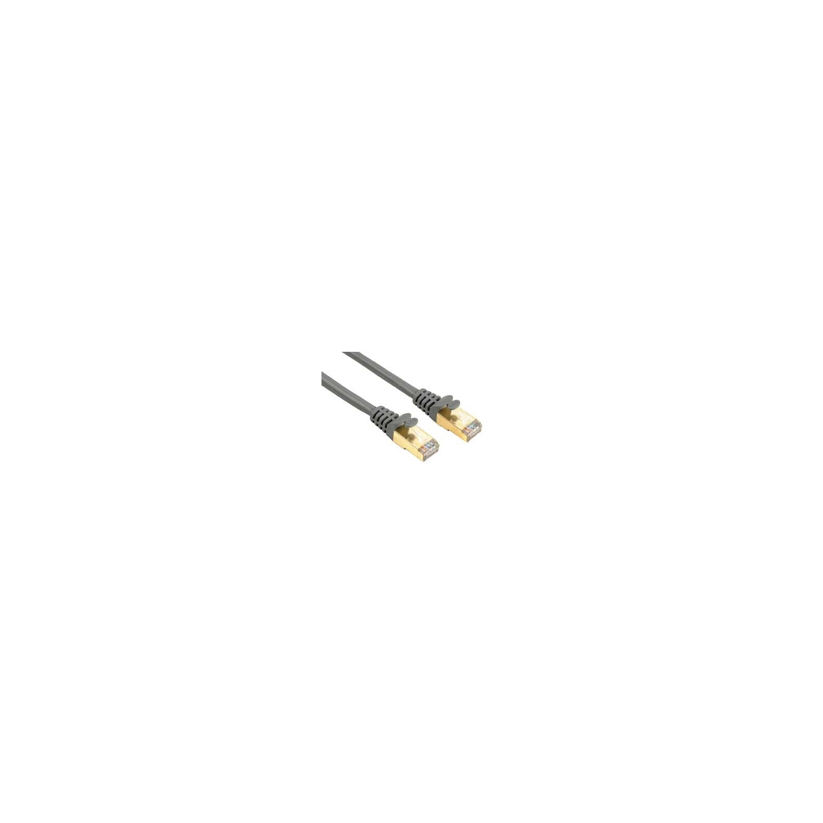 Hama 41895 CAT-5e-Netzwerkkabel STP, vergoldet, geschirmt, G