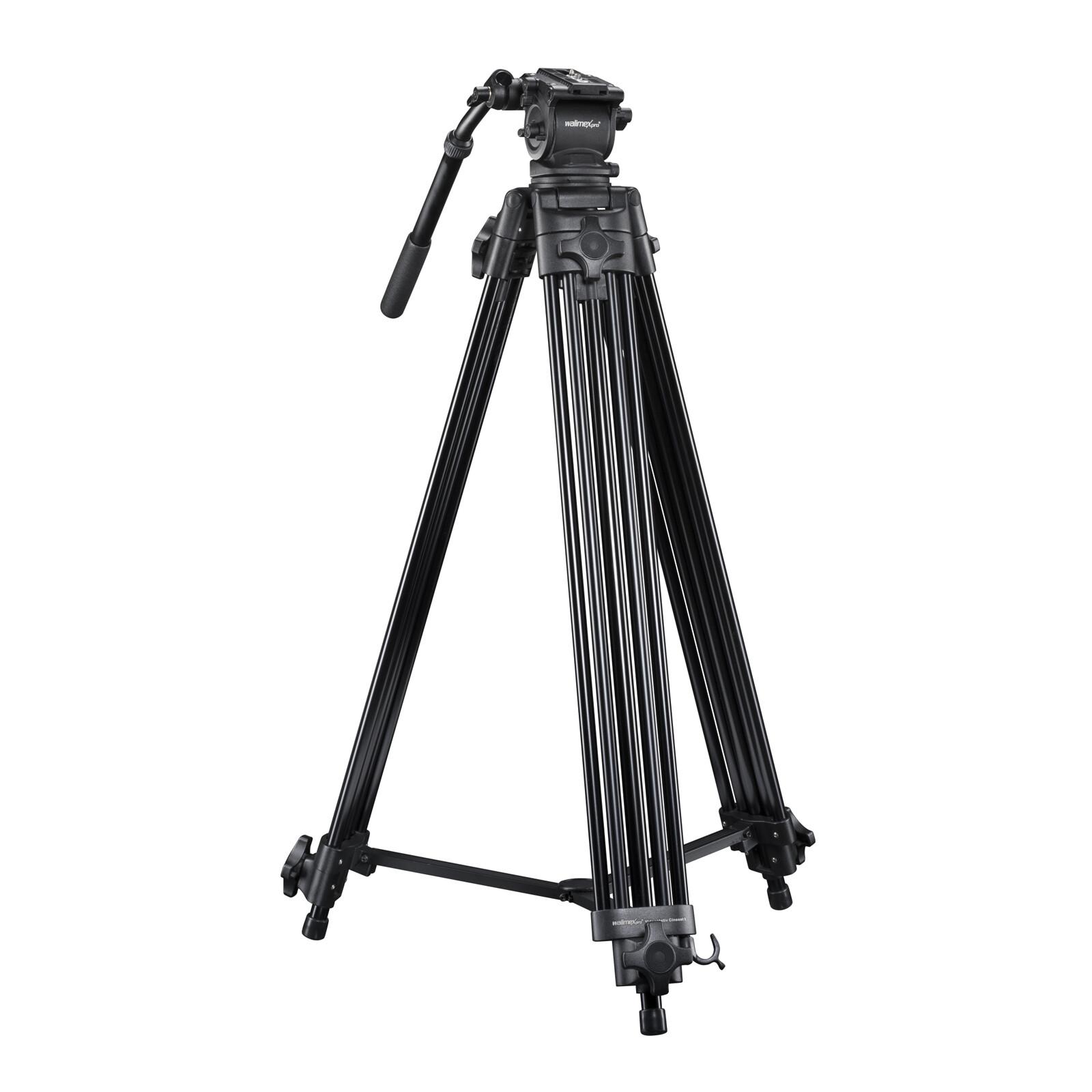 walimex pro Videostativ Cineast I 188cm