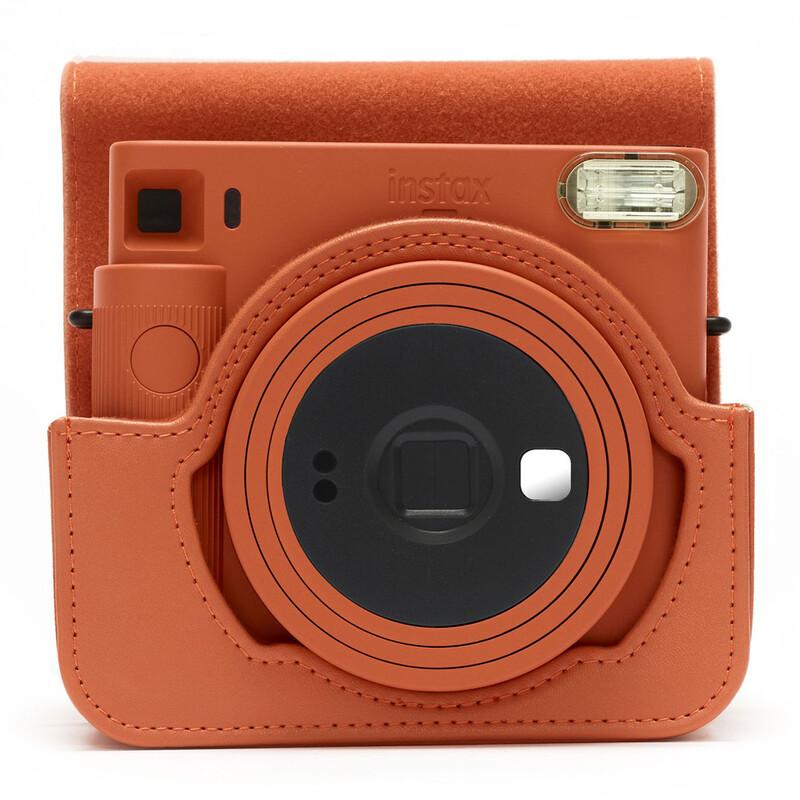 Fujifilm Instax SQ1 Case Terracotta Orange