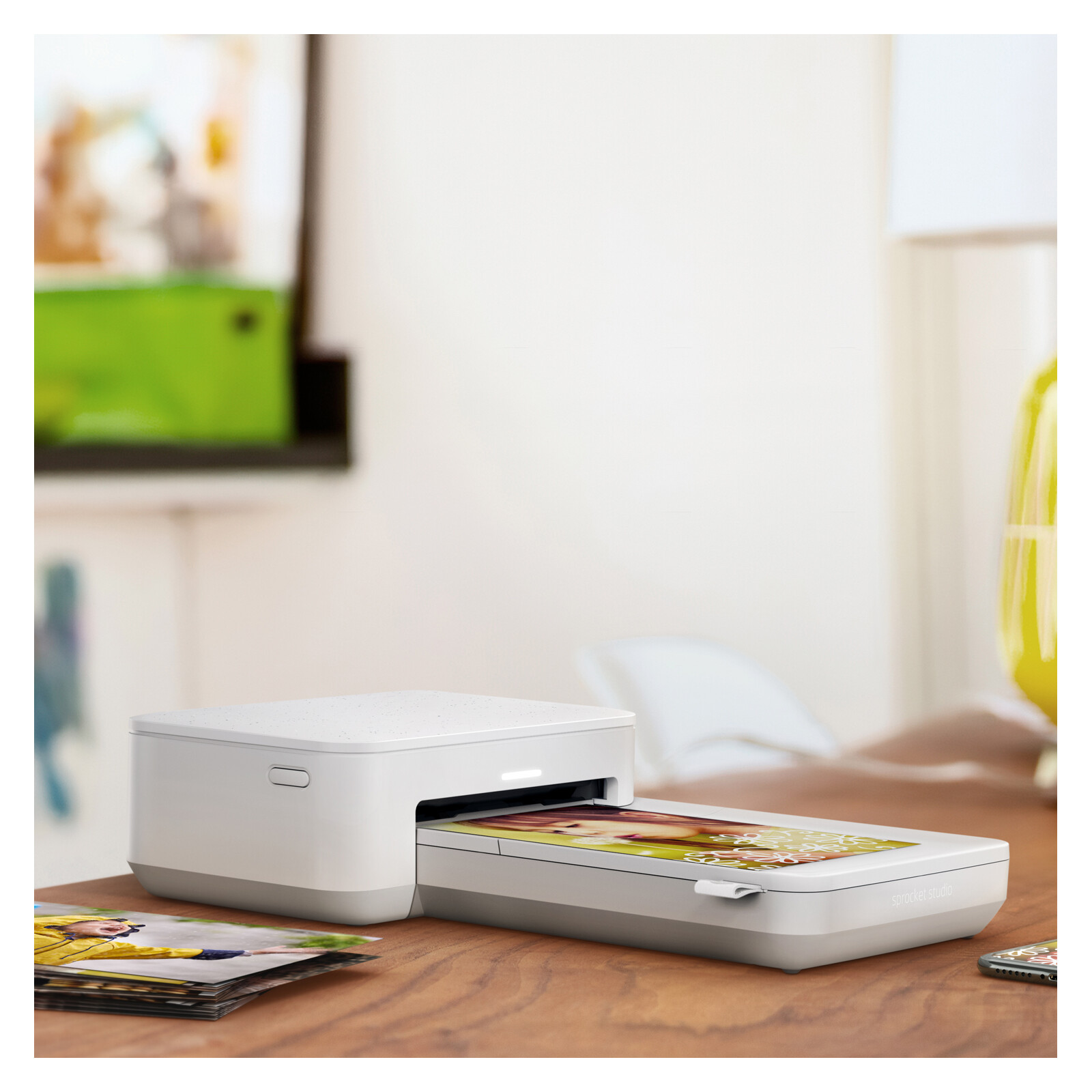 HP Sprocket Studio Snow Printer V2