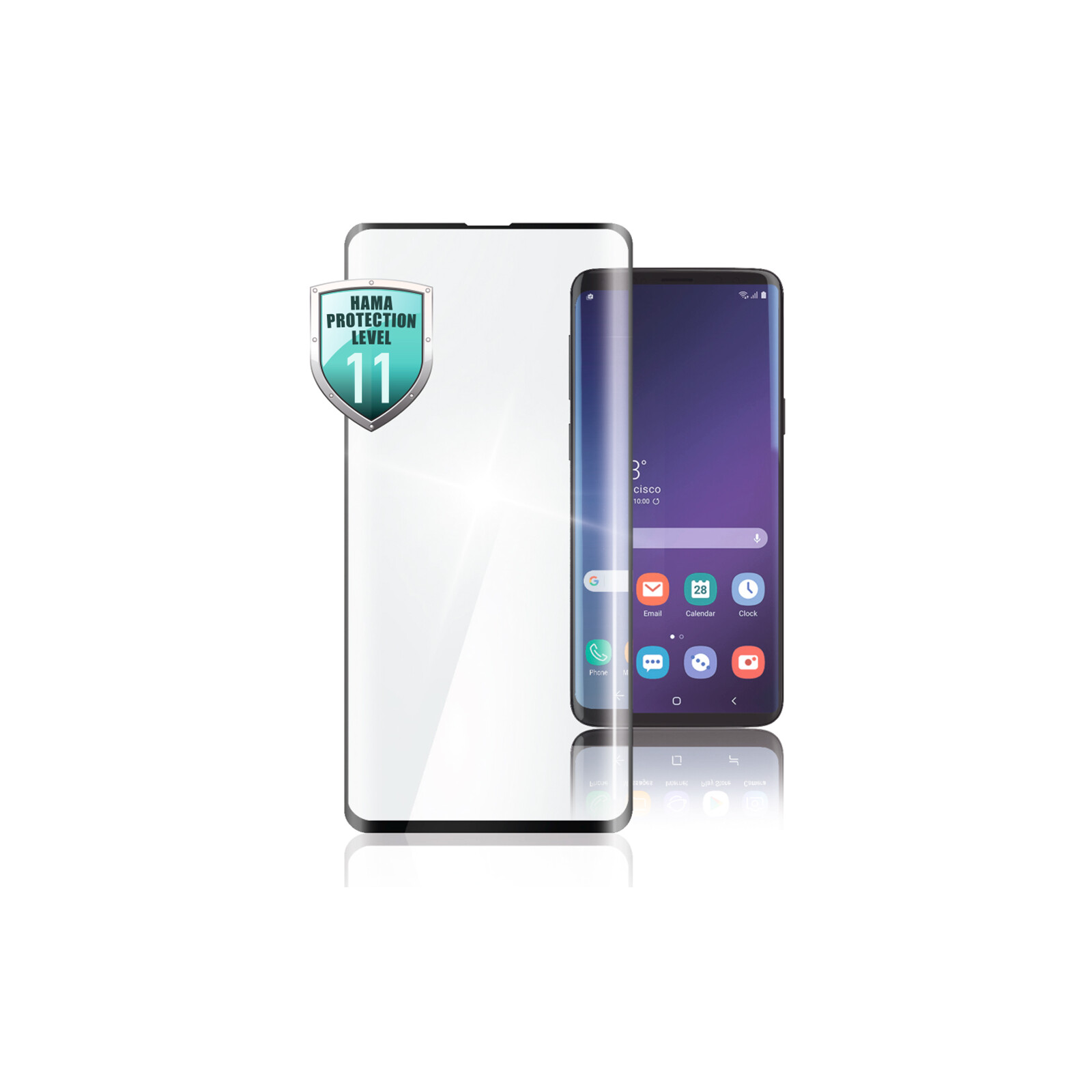 Hama 3D Full Screen Displayschutzglas Samsung Galaxy Note 10