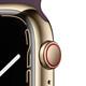 Apple Watch Series 7 Cellular Edelstahl gold 45mm kirsch