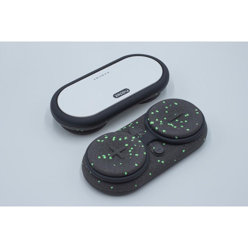 Zeppy MKII Bluetooth Lautsprecher schwarz/grün