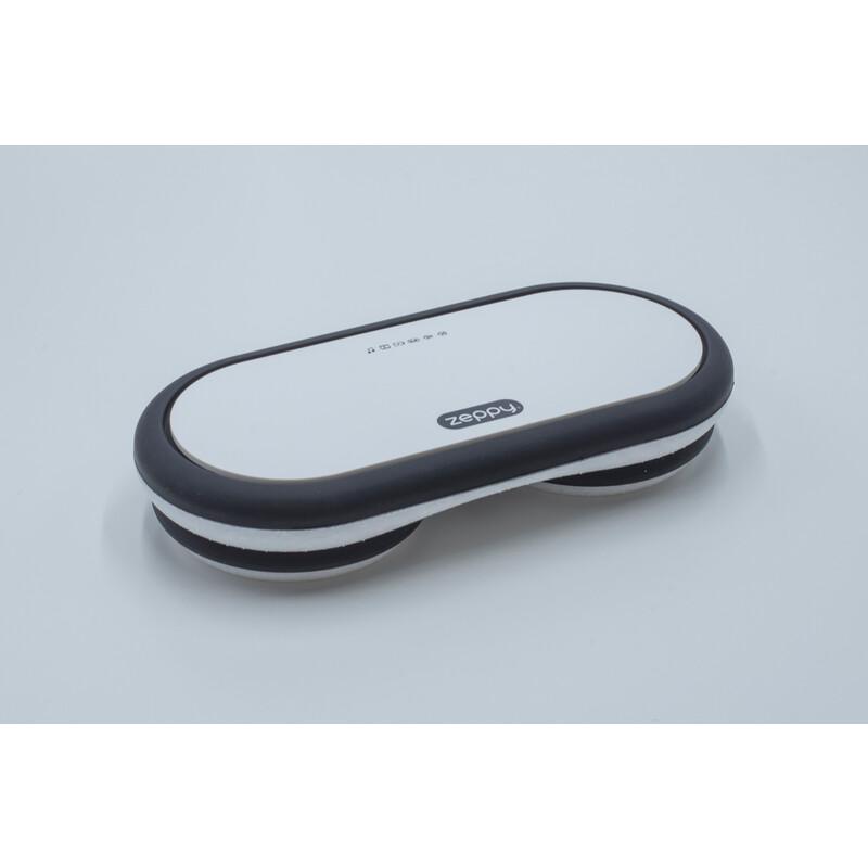 Zeppy MKII Bluetooth Lautsprecher weiß