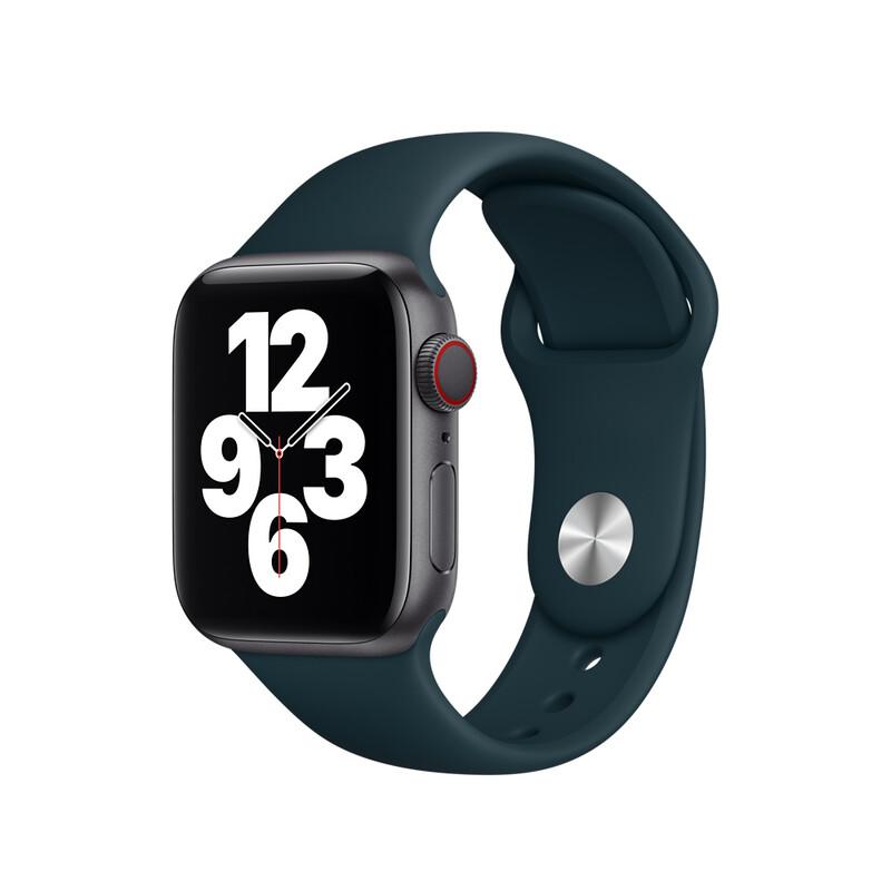 Apple Watch 40mm Sportarmband federgrün