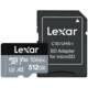 Lexar mSDXC 512B High Performance 160MB/s