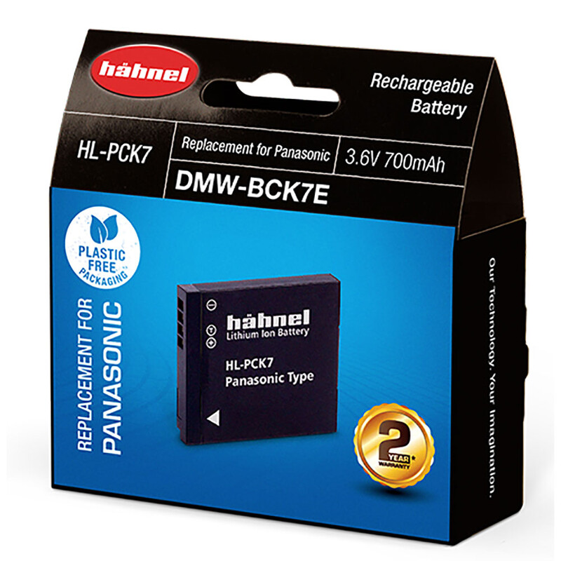 Hähnel Panasonic DMW-BCK7E Akku