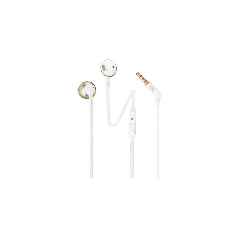 JBL T205 In-Ear Kopfhörer Gold