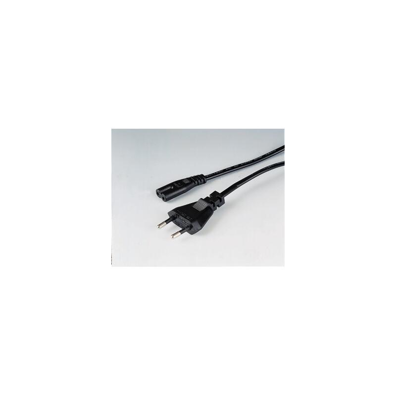 Hama 44223 Netzkabel 2,5m schwarz