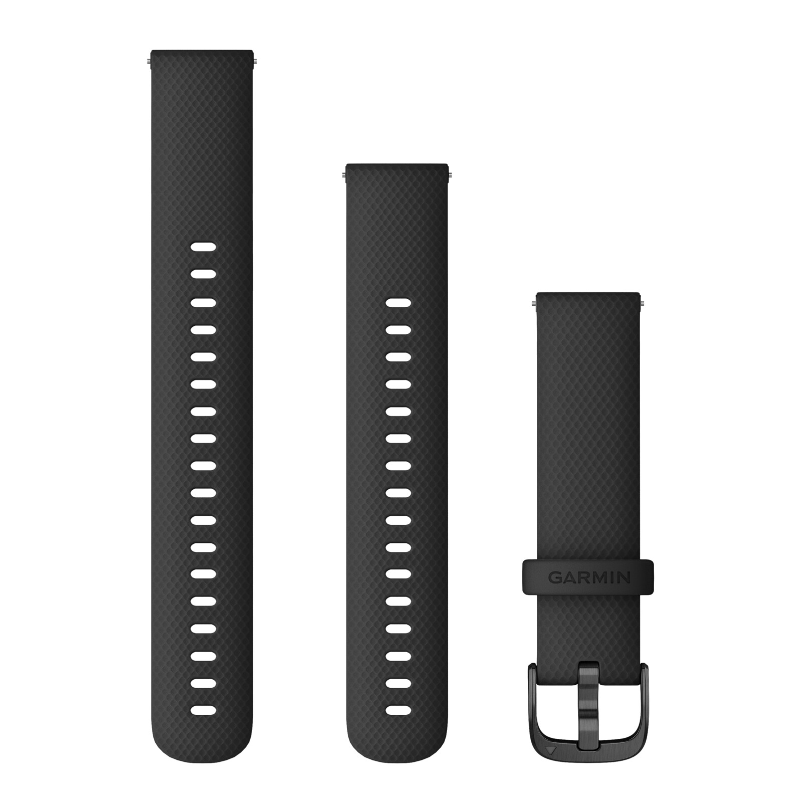 Garmin Schnellwechsel Armband Silikon 18mm Schwarz