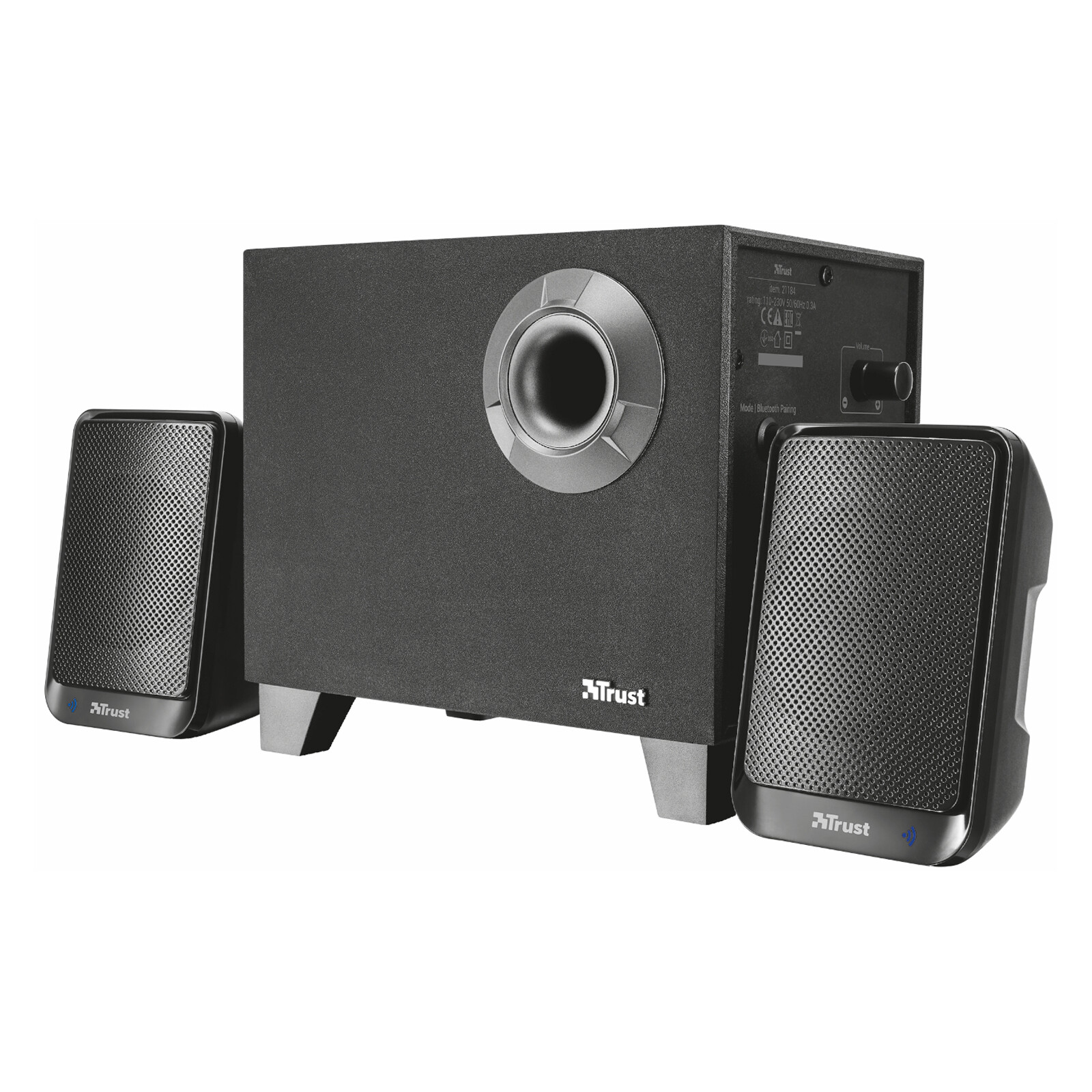 Trust Evon Wireless 2.1 Speaker Set Bluetooth