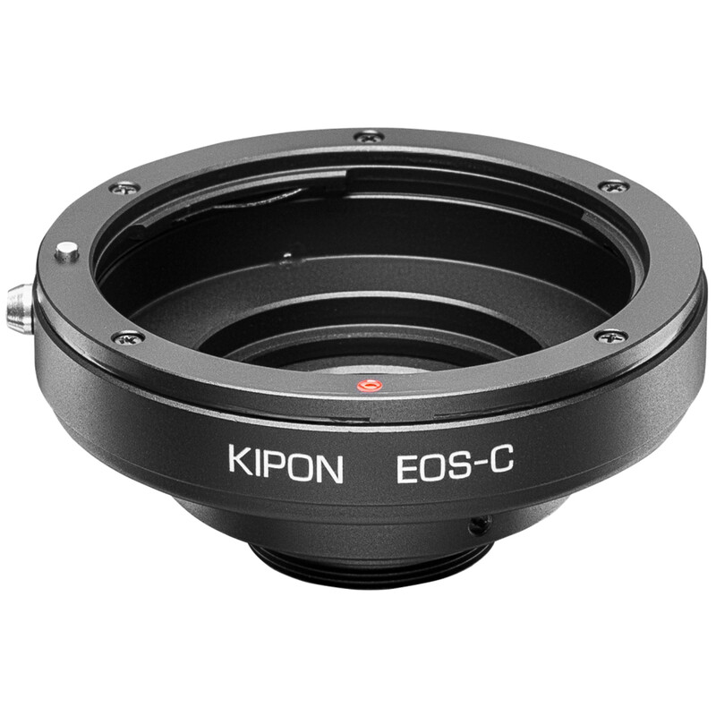 Kipon Adapter C-Mount auf Canon EF