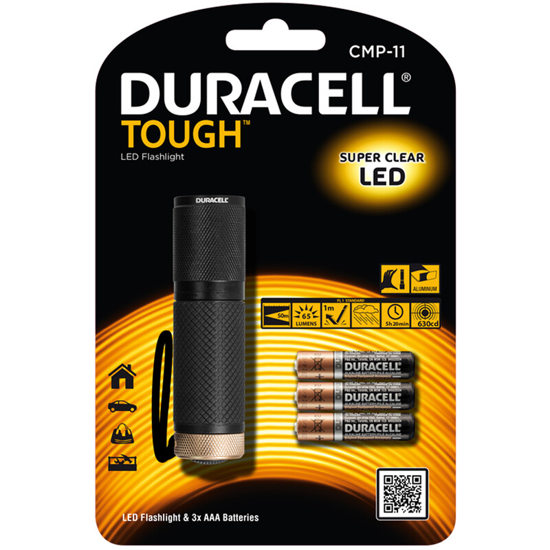 Duracell CMP-11 Mini Taschenlampe inkl. Batterien