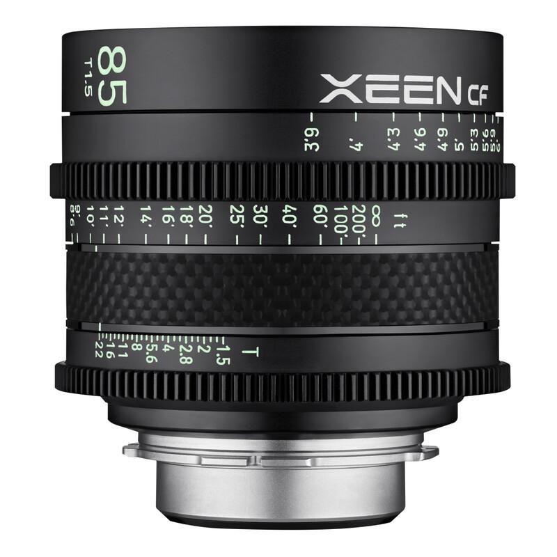 XEEN CF Cinema 85/1,5 Sony E Vollformat