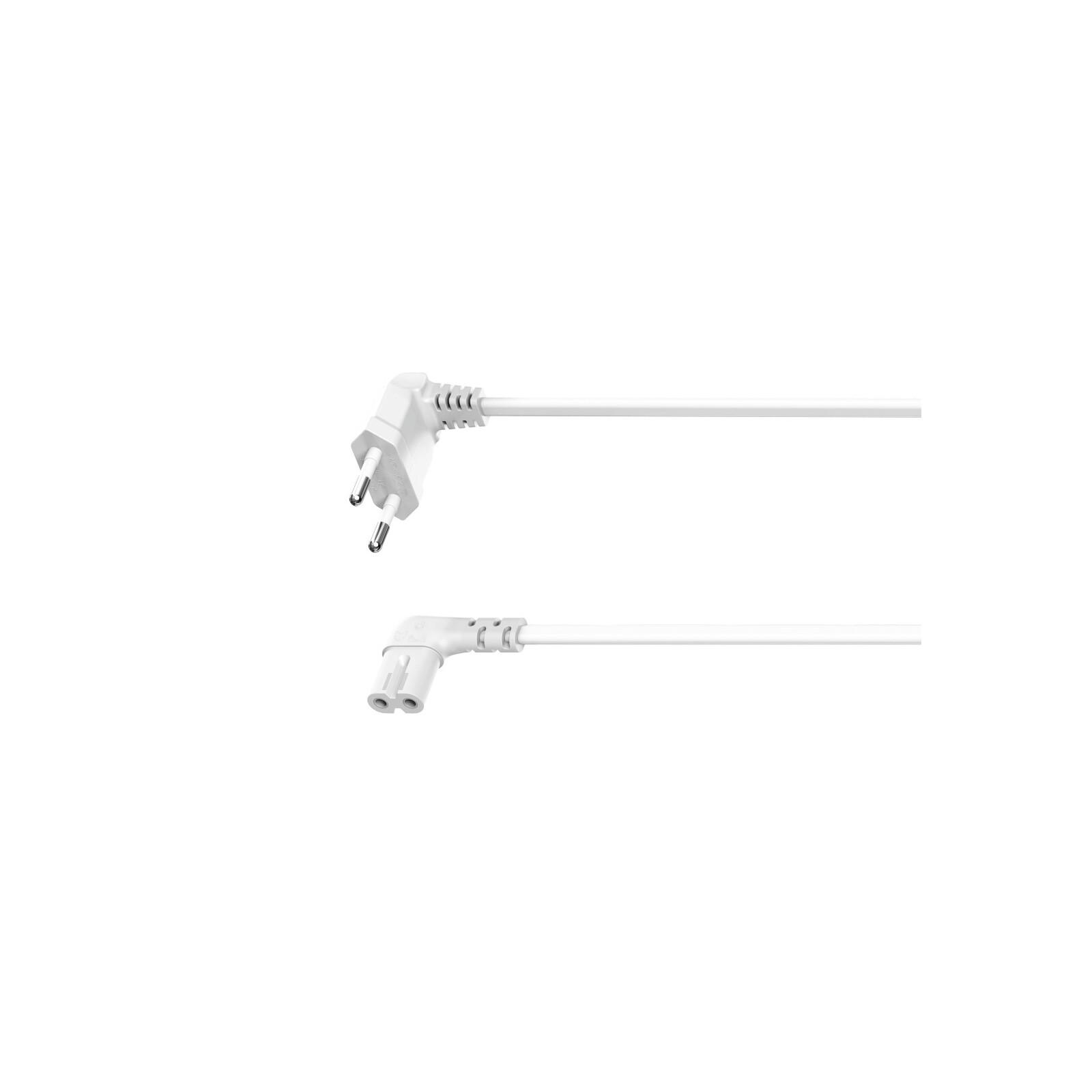 Hama Euro-Netzkabel 5m White