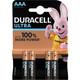 Duracell AAA Ultra Power 1,5V 4er