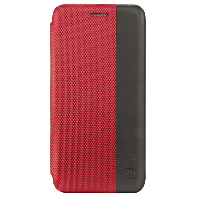 Felixx Book Tasche Lyon Samsung Galaxy A8 Bordeaux Rot